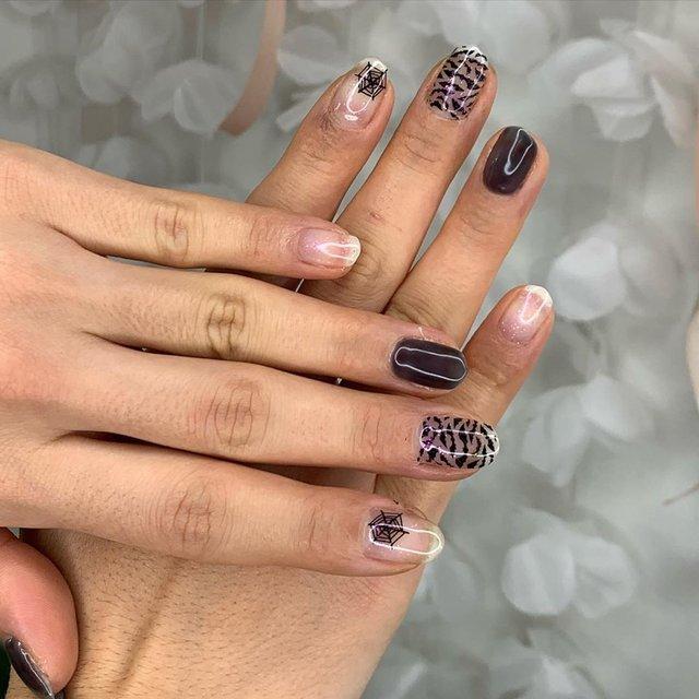 Манікюр на Хеловін 2019: модні тренди дизайну нігтів у фото - фото 363040