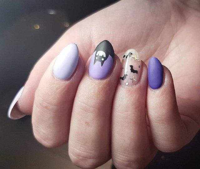 Манікюр на Хеловін 2019: модні тренди дизайну нігтів у фото - фото 363048