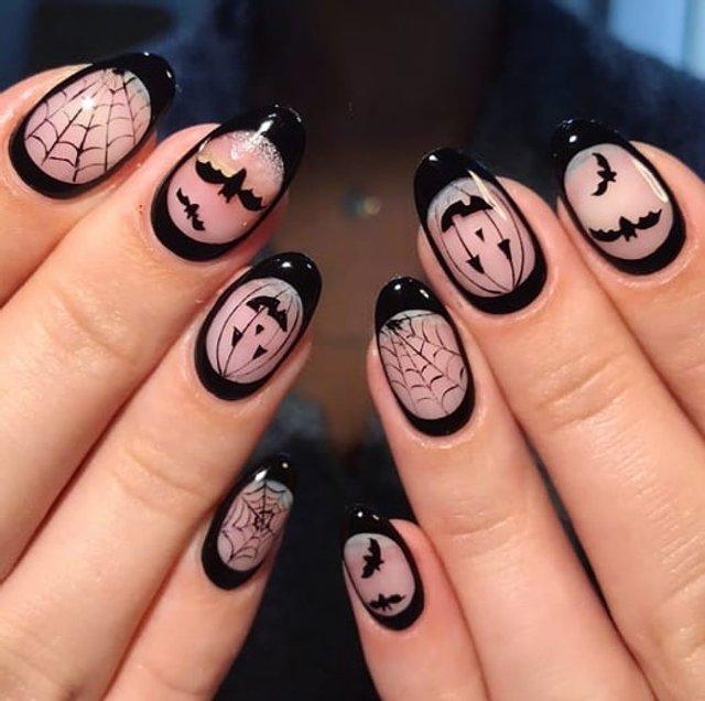 Манікюр на Хеловін 2019: модні тренди дизайну нігтів у фото - фото 363049