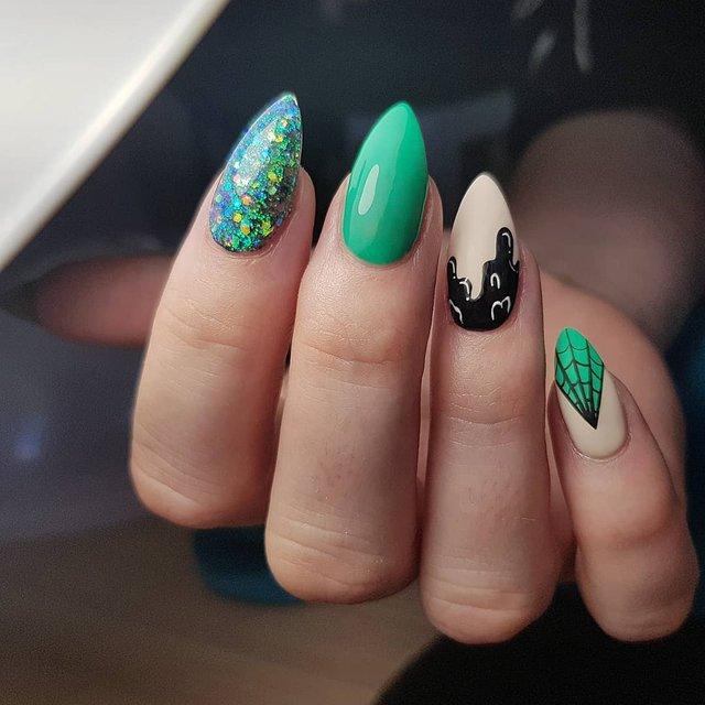 Манікюр на Хеловін 2019: модні тренди дизайну нігтів у фото - фото 363050