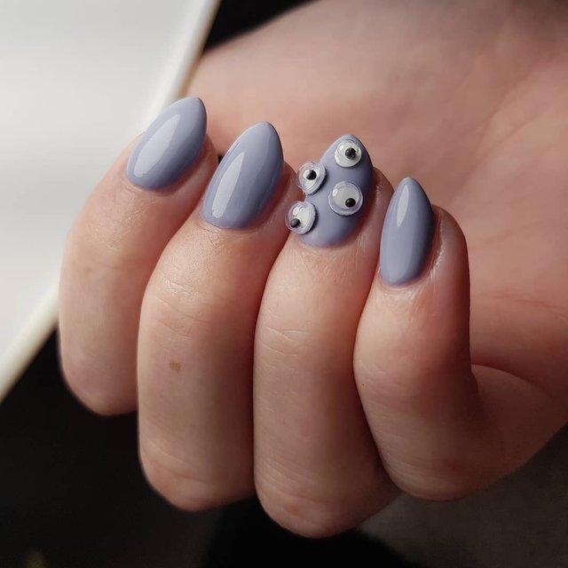 Манікюр на Хеловін 2019: модні тренди дизайну нігтів у фото - фото 363059