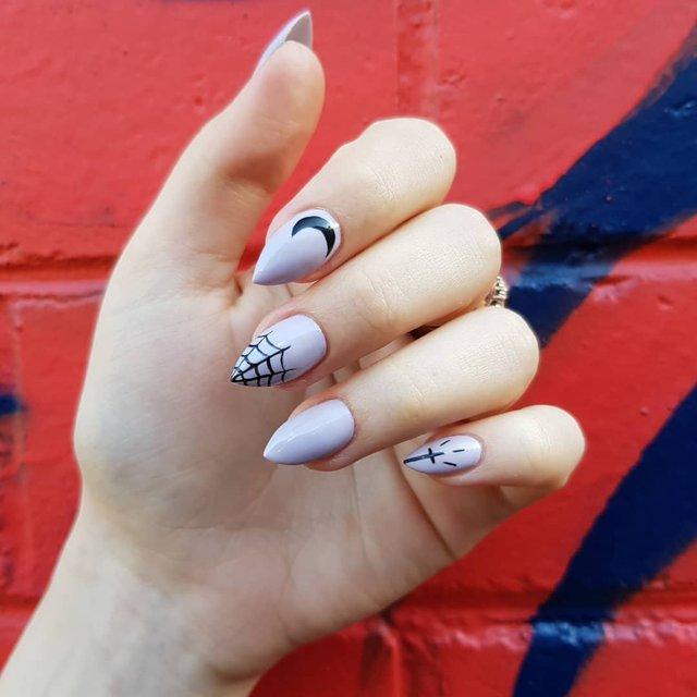 Манікюр на Хеловін 2020: модні тренди дизайну нігтів у фото - фото 363062