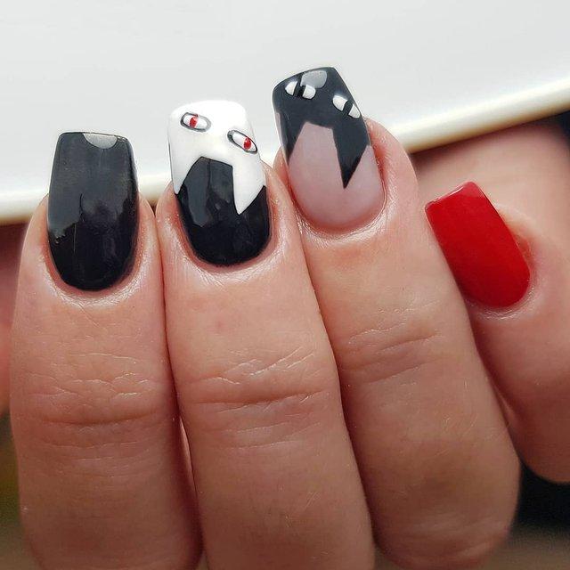 Манікюр на Хеловін 2019: модні тренди дизайну нігтів у фото - фото 363063