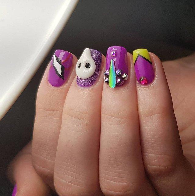 Манікюр на Хеловін 2019: модні тренди дизайну нігтів у фото - фото 363072