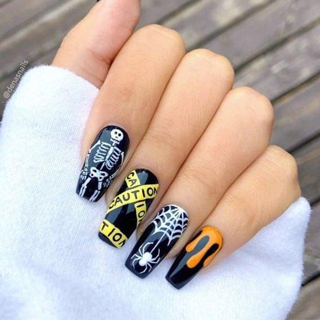 Манікюр на Хеловін 2019: модні тренди дизайну нігтів у фото - фото 363074