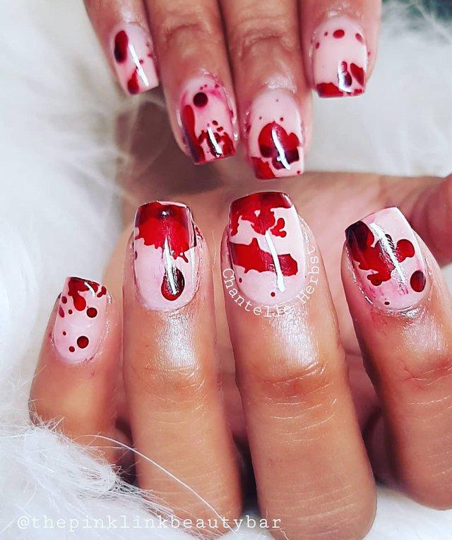 Манікюр на Хеловін 2019: модні тренди дизайну нігтів у фото - фото 363078