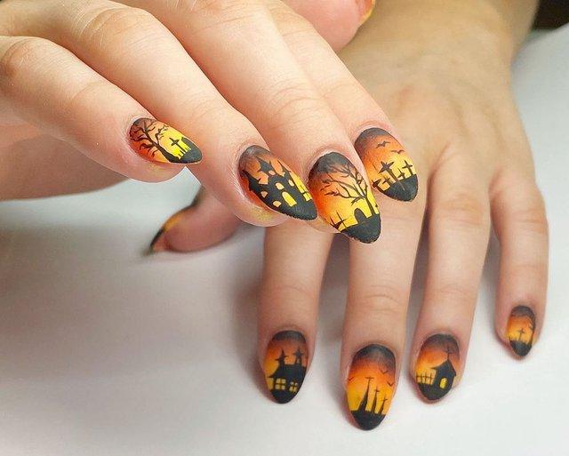 Манікюр на Хеловін 2019: модні тренди дизайну нігтів у фото - фото 363080