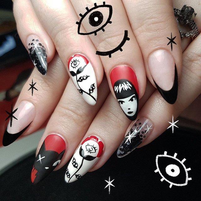 Манікюр на Хеловін 2019: модні тренди дизайну нігтів у фото - фото 363082