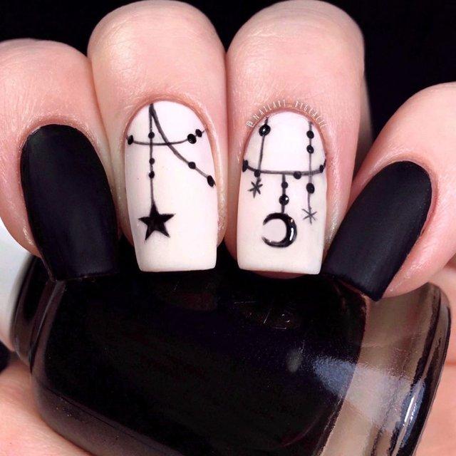 Манікюр на Хеловін 2019: модні тренди дизайну нігтів у фото - фото 363084