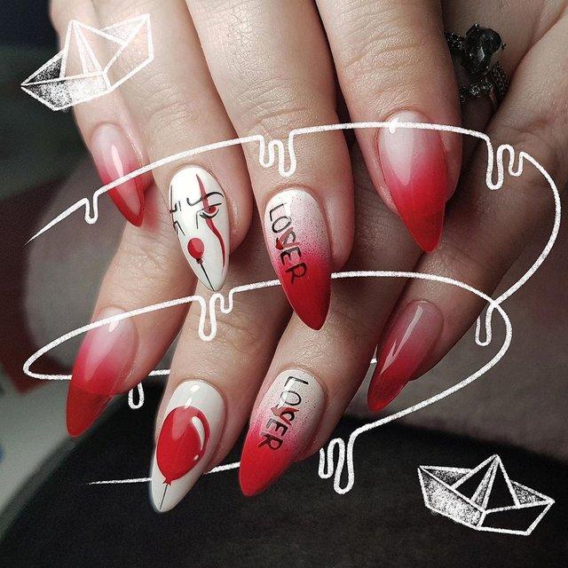 Манікюр на Хеловін 2020: модні тренди дизайну нігтів у фото - фото 363085