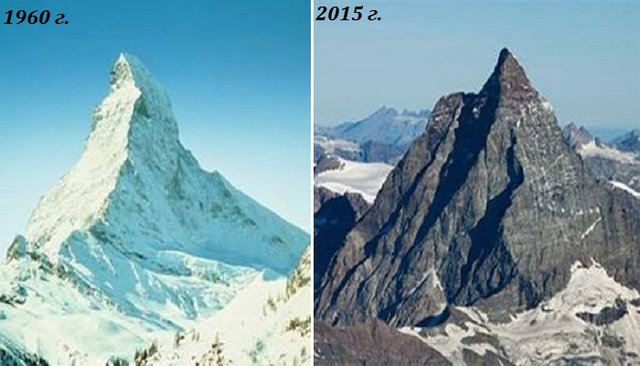 Як змінилися Швейцарські Альпи за останні сто років - фото 363150