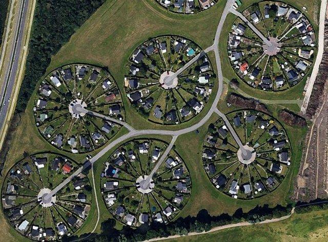 Унікальне місто-сад, побудований біля Копенгагена - фото 363862