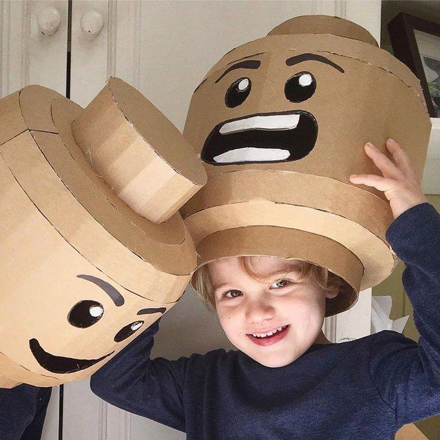 Австралійка робить картонні костюми на Хеловін, які дивують (фото) - фото 364824