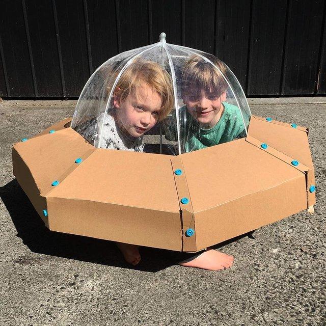 Австралійка робить картонні костюми на Хеловін, які дивують (фото) - фото 364832