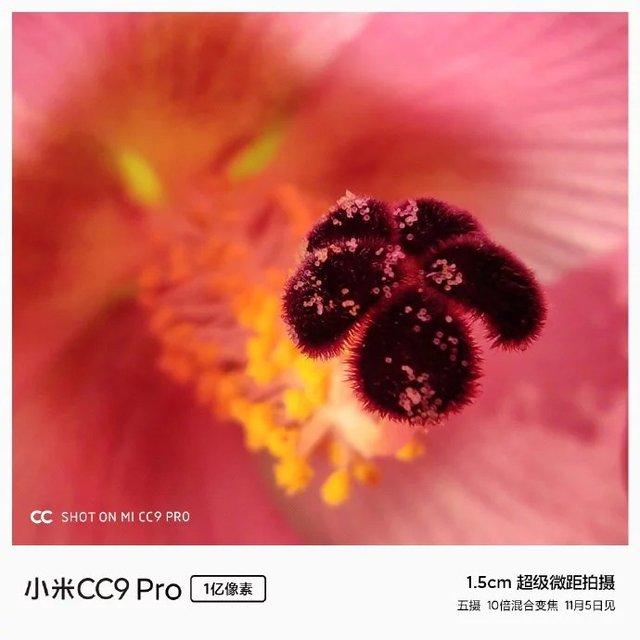Глава Xiaomi показав дивовижні макрознімки, які зробив на Mi CC9 Pro - фото 365035