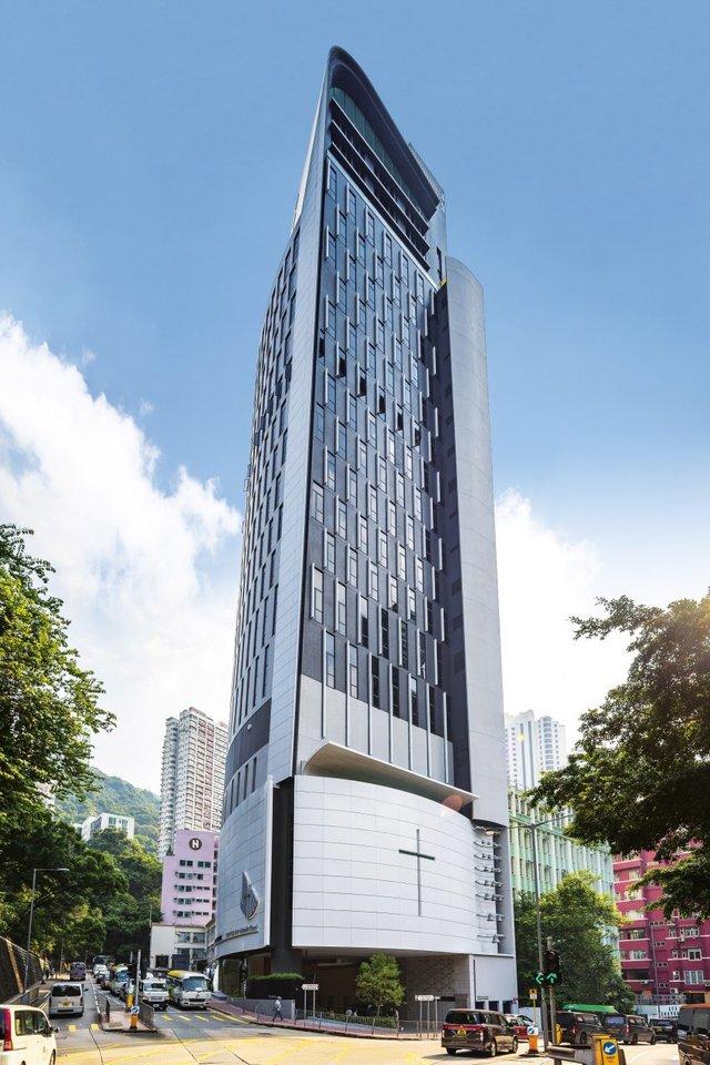 У Гонконзі побудували церкву-хмарочос: споруда вражає - фото 365356