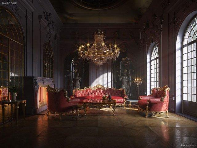Від ренесансу до сьогодні: як змінювався інтер'єр вітальні за 600 років - фото 365520