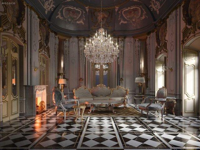 Від ренесансу до сьогодні: як змінювався інтер'єр вітальні за 600 років - фото 365521