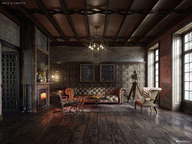 Від ренесансу до сьогодні: як змінювався інтер'єр вітальні за 600 років - фото 365524