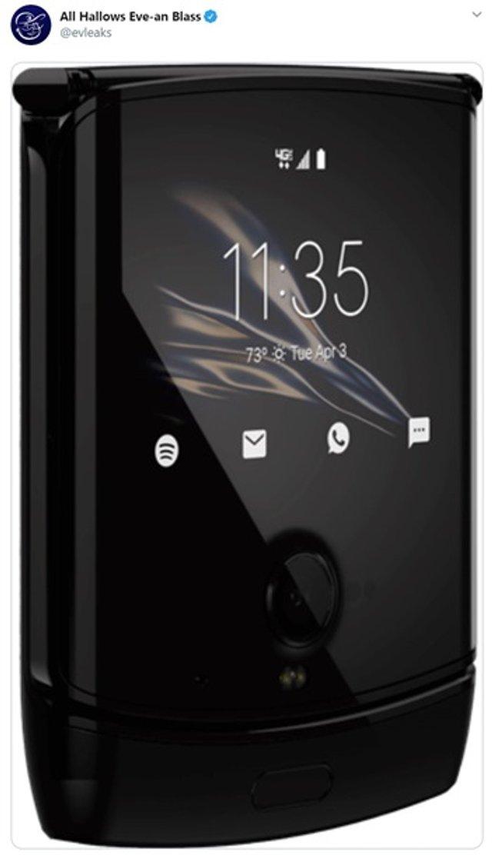 У мережі з'явилися фото гнучкої розкладачки Motorola - фото 365630