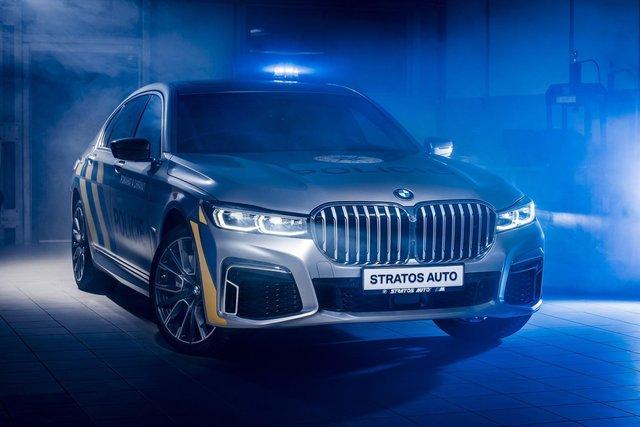 На стражі порядку: чеські копи їздитимуть на новеньких BMW 7 серії - фото 365966