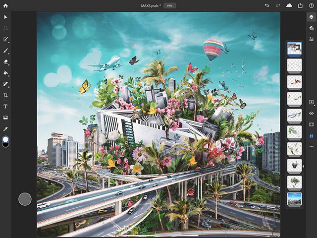 Adobe випустила Photoshop для iPad: що він уміє - фото 365977