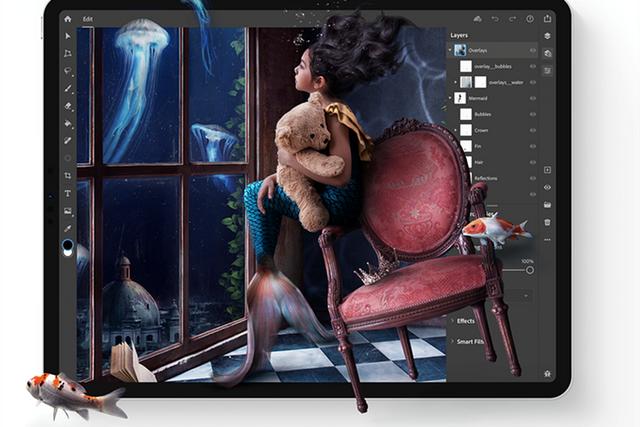 Adobe випустила Photoshop для iPad: що він уміє - фото 365978