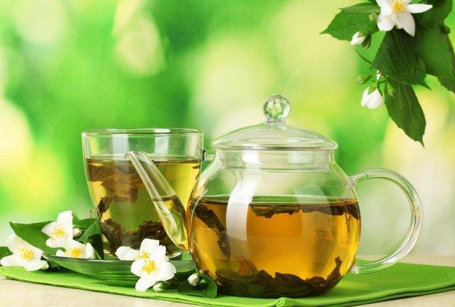 Зелений чай бадьорить організм - фото 366076