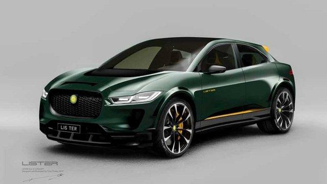 Агресивний кіт: Jaguar I-Pace отримав 'гарячу' версію - фото 366148