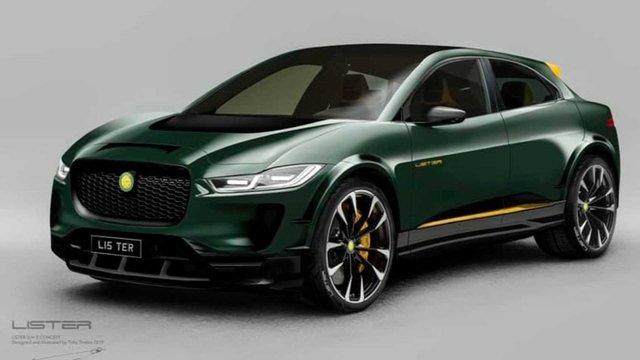 Агресивний кіт: Jaguar I-Pace отримав 'гарячу' версію - фото 366149