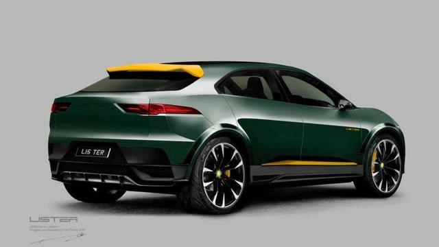 Агресивний кіт: Jaguar I-Pace отримав 'гарячу' версію - фото 366150