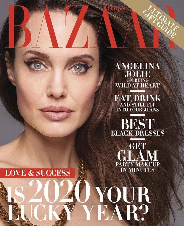 Анджеліна Джолі знялася оголеною у сміливій фотосесії - фото 366314
