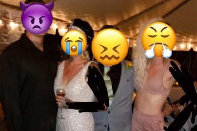 Дівчина прийшла на весілля в бюстгальтері і підірвала мережу: епічне фото - фото 366393