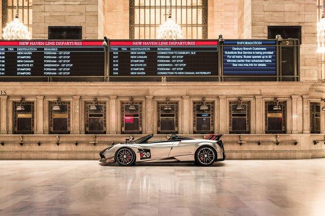 Pagani перетворили вокзал Нью-Йорка на автомобільний музей - фото 366905