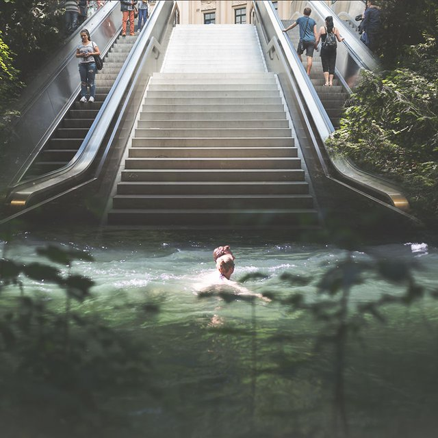Якби природа поглинула сучасні міста: вражаючі фото - фото 367892