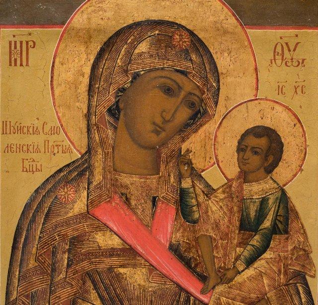Шуйська (Смоленська) ікона Божої Матері  - фото 368063