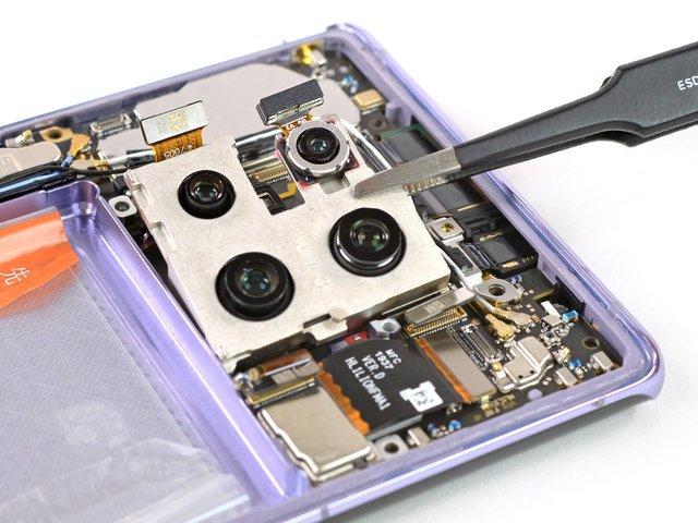 З ремонтом буде непросто: фахівці розібрали HUAWEI Mate 30 Pro - фото 368397