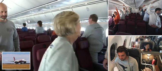 Пасажири найдовшого авіарейсу розповіли про дивні речі на борту - фото 368609