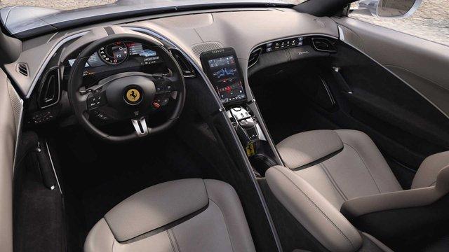 Ferrari представила унікальний автомобіль з сенсорними дверима - фото 368684