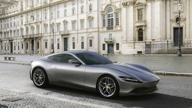 Ferrari представила унікальний автомобіль з сенсорними дверима - фото 368685