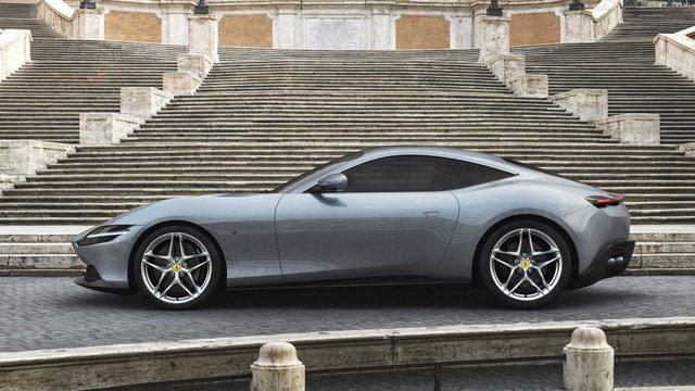 Ferrari представила унікальний автомобіль з сенсорними дверима - фото 368686