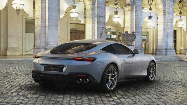 Ferrari представила унікальний автомобіль з сенсорними дверима - фото 368687