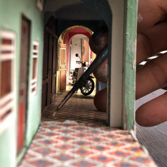 Художник створює вражаючі мініатюри авто, які змушують придивитись - фото 368824