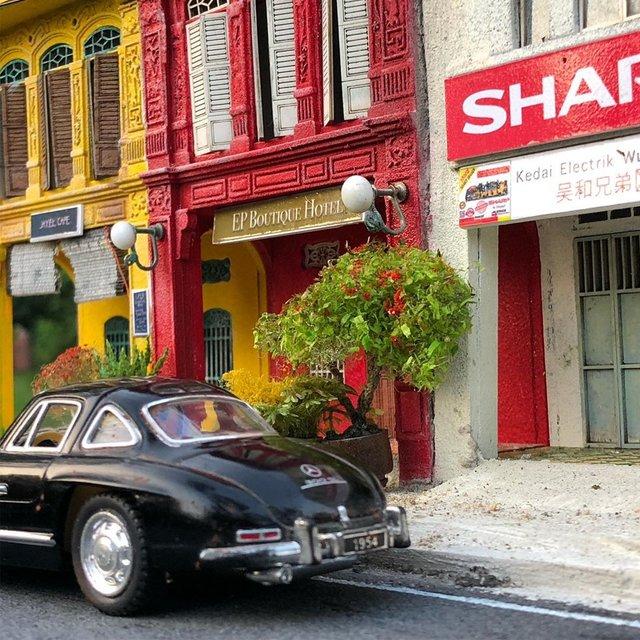 Художник створює вражаючі мініатюри авто, які змушують придивитись - фото 368833