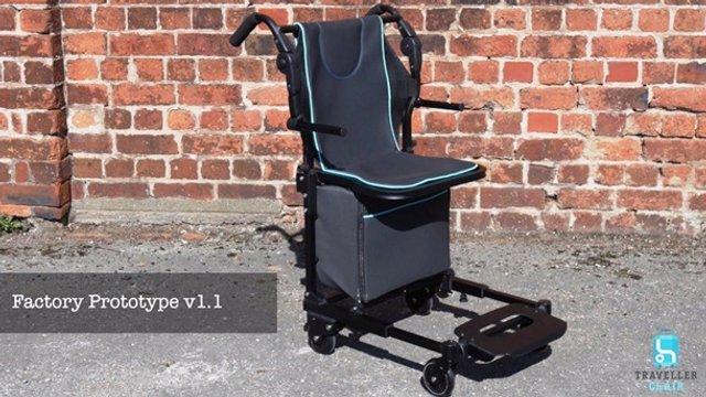 Це геніально: інженер створив унікальне крісло-валізу - фото 369021