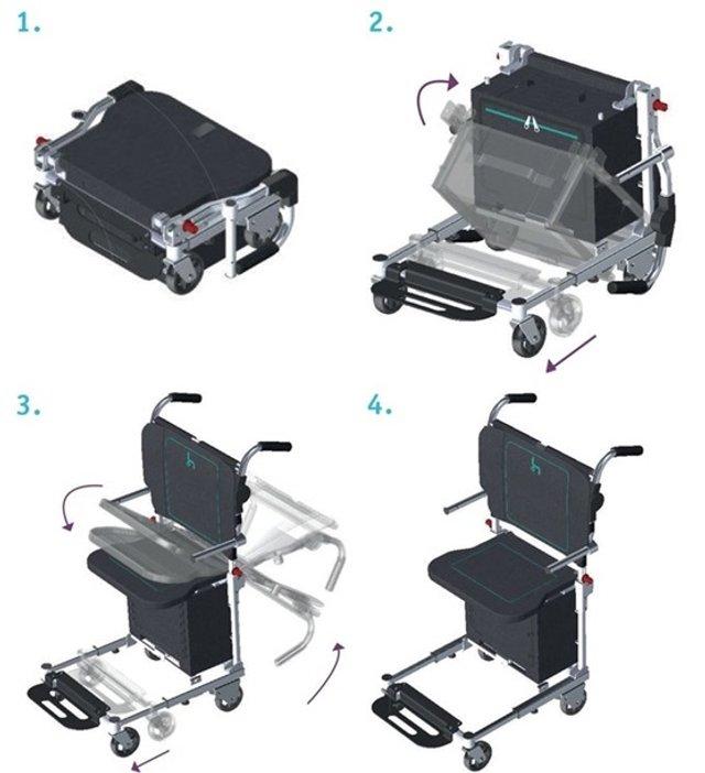 Це геніально: інженер створив унікальне крісло-валізу - фото 369022