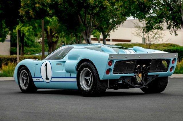 Форд проти Феррарі: гоночний Ford GT40 з фільму продають - фото 369094
