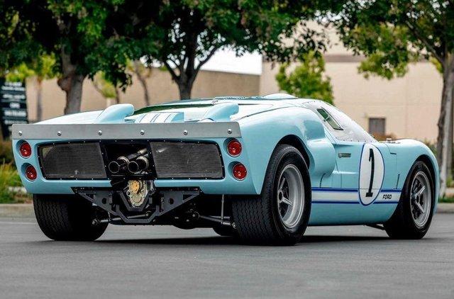 Форд проти Феррарі: гоночний Ford GT40 з фільму продають - фото 369095