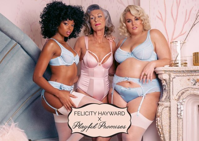 Plus-size модель випустила сексуальну спідню білизну для пишнотілих жінок - фото 370775