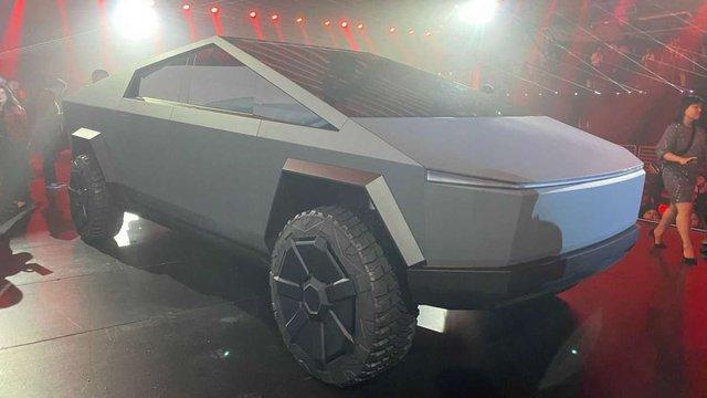 Tesla Cybertruck - фото 370840